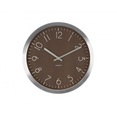 Nástenné hodiny KA5609DW, Karlsson, Wood Charm, 35cm
