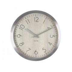 Nástenné hodiny KA5608WH, Karlsson, Wood Charm, 60cm