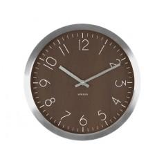 Nástenné hodiny KA5608DW, Karlsson, Wood Charm, 60cm