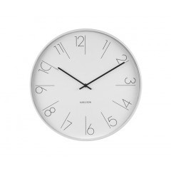 Nástenné hodiny KA5607WH, Karlsson, Elegant Numbers, 40cm