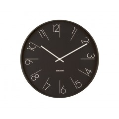 Nástenné hodiny KA5607BK, Karlsson, Elegant Numbers, 40cm