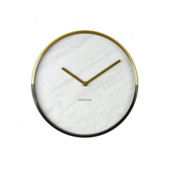 Nástenné hodiny KA5606WH, Karlsson, Marble Delight, 30cm
