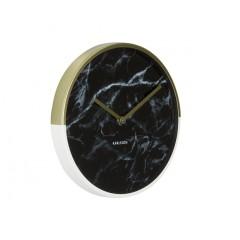 Nástenné hodiny KA5606BK, Karlsson, Marble Delight, 30cm
