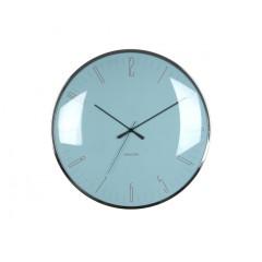 Nástenné hodiny Karlsson Dragonfly, Dome glass KA5623BL, 40cm