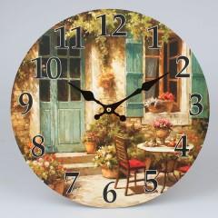 Nástenné hodiny HLC, Vintage 3168, 34cm