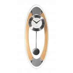 Nástenné kyvadlové hodiny JVD N16024/68, 60cm