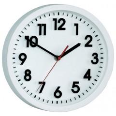 Nástenné quarz hodiny, biela 25 cm