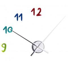 Nástenné hodiny JVD HB14, Chróm, 70cm