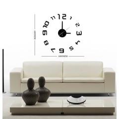 Nalepovacie nástenné hodiny, HM26, 60cm