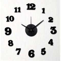 Nalepovacie nástenné hodiny, MPM 3509/12bk, 50cm