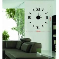 Nalepovacie nástenné hodiny, MPM 3511/Rim bk, 50cm