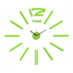 Nalepovacie nástenné hodiny, MPM 3515/Time Green, 60cm