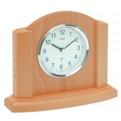 Rádiom riadené stolové hodiny AMS 5122/18 20cm