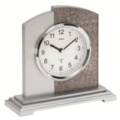 Rádiom riadené stolové hodiny AMS 5144 17cm