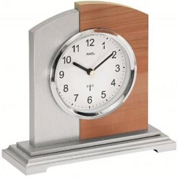 Rádiom riadené stolové hodiny AMS 5146 17cm