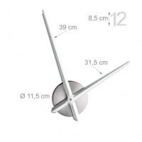 Nalepovacie nástenne hodiny RD0784, 110 cm