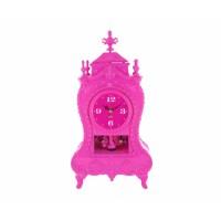 Stolové hodiny Baroque, Pink 29cm