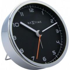 Stolný budík 5194zw Nextime Company Alarm 9cm