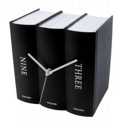 Stolové hodiny Karlsson Kniha 4283 20 cm