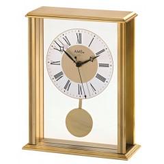 Stolové kyvadlové hodiny 5191 AMS riadené rádiovým signálom 25cm