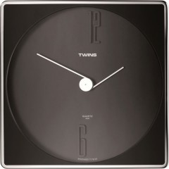 Twins hodiny 06 black 30cm