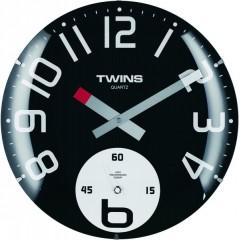 Twins hodiny 363 black 35cm