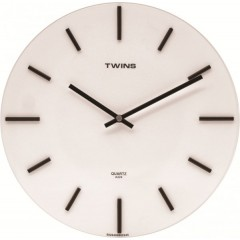 Twins hodiny 224 white 30cm