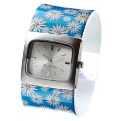 Štýlové hodinky JKA08 WHITE DAISY