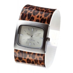 Štýlové náramkové hodinky JKBW14 RAMC LEOPARD