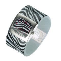 Štýlové náramkové hodinky JKBW15-AMC ZEBRA