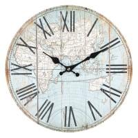 Nástenné hodiny Clayre & EEF, 6KL0540, 34cm