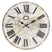 Nástenné hodiny Clayre & EEF, 6KL0533, 34cm