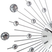 Nástenné hodiny Atmosphera Crystal Shine JJA, 33cm
