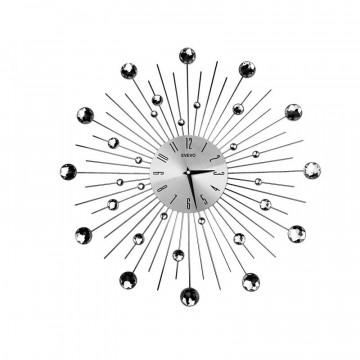 Nástenné hodiny Crystal Shine Evevo, 50cm