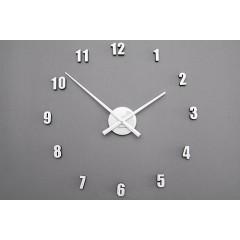 Nástenné hodiny ExitDesign Extender Mini 138HL, biela 50-80cm