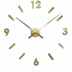 Nástenné hodiny ExitDesign Extender 668G, mosadz 70-100cm