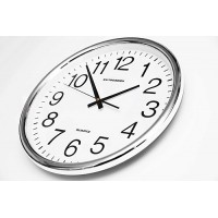 Nástenné hodiny ExitDesign City Numbers HY013SS , 35cm