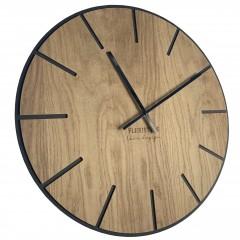 Drevené nástenné hodiny Wood art Flex z216-1d-1-x, 60 cm