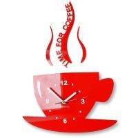 Kuchynské hodiny šálka Flexz16, 42 cm, rôzne farby