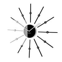 Nástenné hodiny Shiny sticks Flex z44 1-0-x, 60 cm