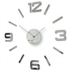 3D Nalepovacie hodiny DIY ADMIRABLE SWEEP z54g-0, Mirror 50-75cm