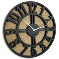 Nástenné ekologické hodiny Arabic Loft Flex z218-1d-2-x, 50 cm
