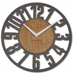 Nástenné ekologické hodiny Loft Arabico Flex z220-1ad-2-x, 30 cm