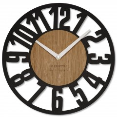 Nástenné ekologické hodiny Loft Arabico Flex z220-1d-2-x, 30 cm