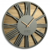 Nástenné ekologické hodiny Roman Loft Flex z213-1ad-dx, 50 cm