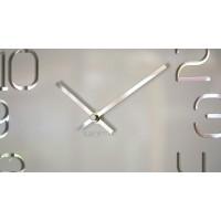 Nástenné akrylové hodiny Digit Flex z120-2-0-x, 30 cm, biele