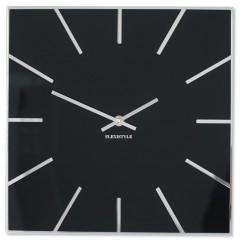 Nástenné akrylové hodiny Exact Flex z119-1-0-x, 30 cm, čierne