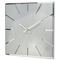 Nástenné akrylové hodiny Exact Flex z119-2-0-x, 30 cm, biele