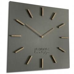 Nástenné hodiny EKO Love Design, FLEXz211-1b, 50cm