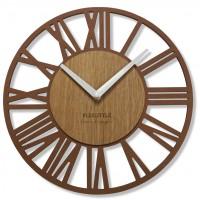 Nástenné hodiny Loft Piccolo bronze Flex z219-9a-2-x, 30 cm